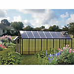 Monticello Mojave 8 ft. x 16 ft. Black Greenhouse