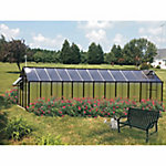 Monticello Mojave 8 ft. x 24 ft. Black Greenhouse
