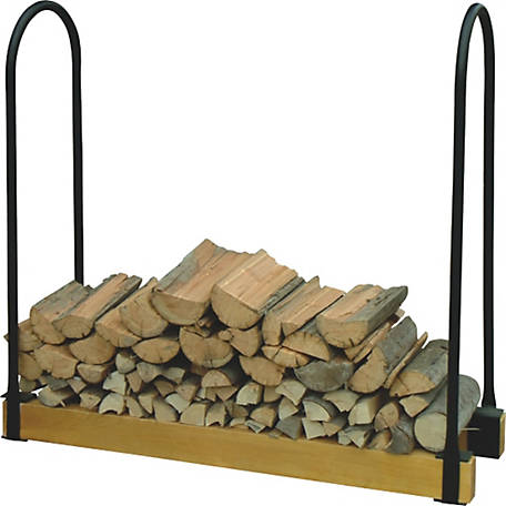 Timber Tuff Log Rack Sides, Add 2 in. x 4 in.