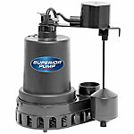Superior Pump 1/3 HP Submersible Thermoplastic Sump Pump
