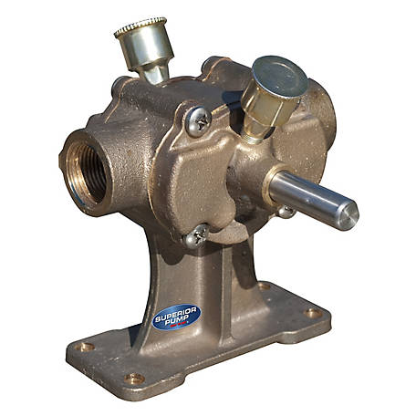 Superior Pump 3/4 in. Bronze Paddle Pump, BP20X