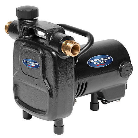 Superior Pump Superior Pump 90050 1/2 HP Cast Iron Transfer Pump