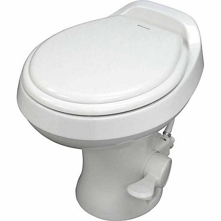 Dometic 300 Gravity Flush Toilet, White