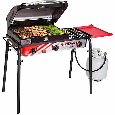Camp Chef Big Gas Grill Three-Burner Stove