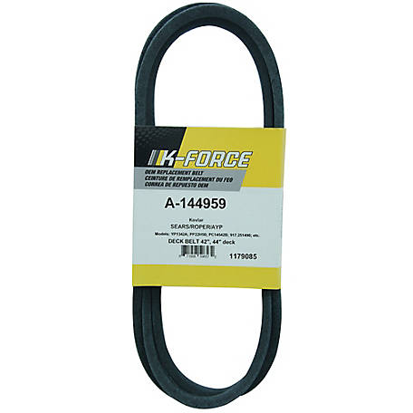A & I Products Kevlar Deck Belt, 1/2 in. x 95.5 in. for 38 in., 42 in., & 44 in. Riding Mowers, 144959
