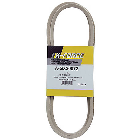 A & I Products Kevlar Deck Belt, 1/2 in. x 103.875 in. for 42 in. Riding Mowers, GX20072