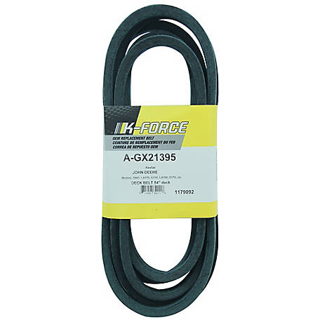 A & I Products Kevlar Deck Belt, 5/8 in. x 161.4 in. for 52 in. & 54 in. Riding Mowers, GX21395