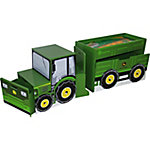 John Deere Tractor Toy Box Set