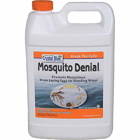 Crystal Blue Mosquito Denial