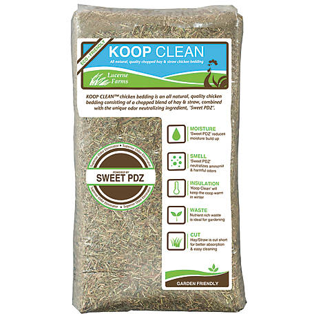 Sweet PDZ Koop Clean Chicken Bedding, 1000625