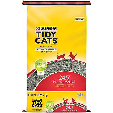 Tidy Cats 24/7 Performance Non-Clumping Cat Litter, 50 lb. Bag at Tractor  Supply Co.