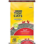 Tidy Cats 24/7 Performance Non-Clumping Cat Litter, 50 lb. Bag
