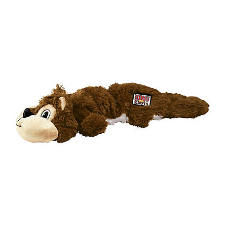 KONG Scrunch Knots Squirrel, Small/Medium, NKS33