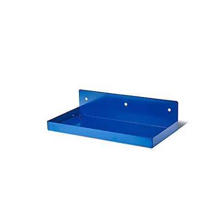 DuraHook 12 in. W x 6 in. Deep Blue Epoxy Coated Steel Shelf
