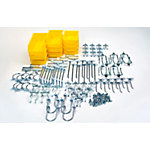 DuraHook 95-piece Zinc Plated Steel Hook & Bin Assortment