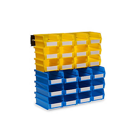 LocBin 26-piece Wall Storage Unit, Pack of 2