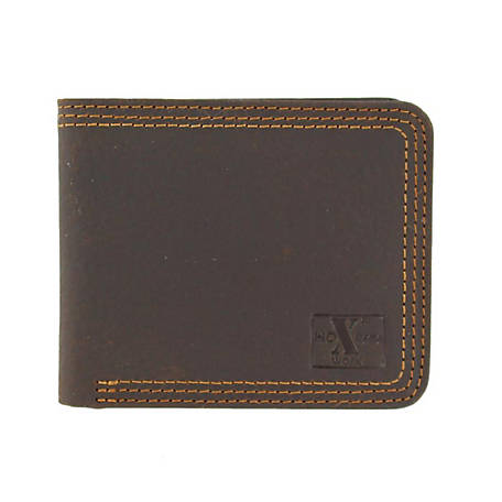 HD Xtreme Triple-Stitched Bifold Wallet, Brown