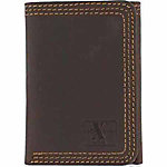 HD Xtreme Triple-Stitched Trifold Wallet, Brown