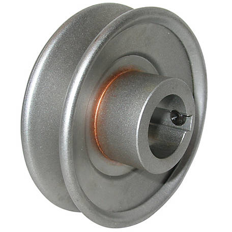 Phoenix Standard A Type 7/8 Steel Drive Pulley, 3-1/2 in. OD