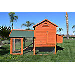 Rugged Ranch Raised Wood Chicken Coop