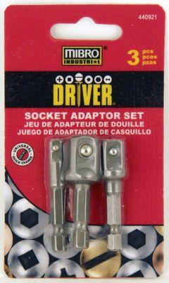 Mibro 3-Piece Socket Adapter Set