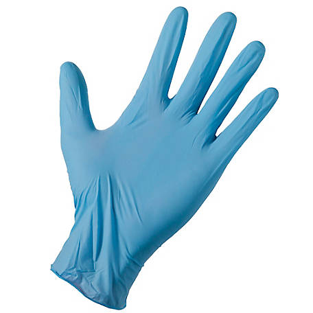 Firm Grip Pro Paint Disposable Nitrile Gloves, Pack of 50
