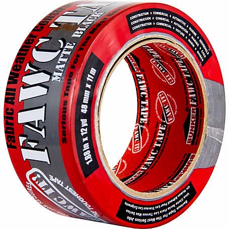 Bunker Industries FAWC Tape, 1.88 in. x 35 yd.