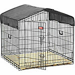 Lucky Dog 36 in. H x 40 in. W x 36 in. L Travel Kennel