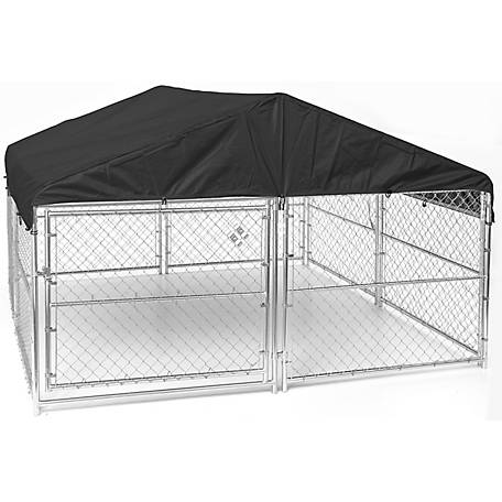 Lucky Dog Weatherguard Kennel Cover Set, 10 ft. W x 10 ft. L
