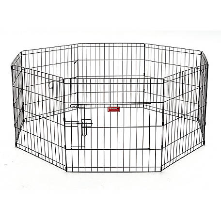 Lucky Dog 24 in. Dog Exercise Pen with Stakes, ZW 11624