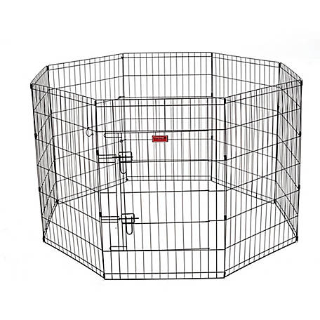 Lucky Dog 36 in. Dog Exercise Pen with Stakes, ZW 11636