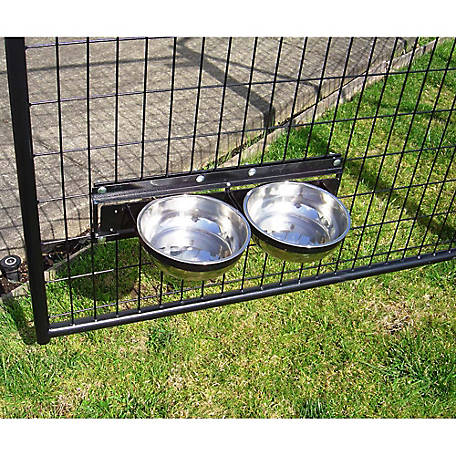 Lucky Dog Static 2-Bowl System, CL 71121