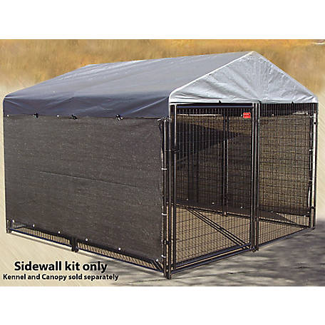 Lucky Dog Winter Screen Kit Side Cloth, 5 ft. H x 25 ft. L