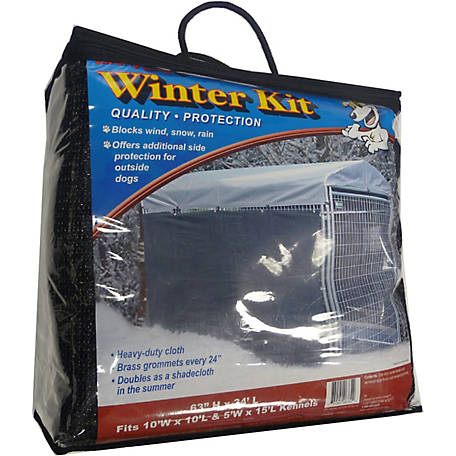 Lucky Dog Winter Screen Kit Side Cloth, 57 in. H x 34 ft. L