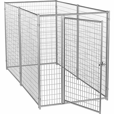 Lucky Dog Modular Welded Wire Kennel Kit Silver 6 Ft H X 5 Ft W X 10 Ft L At Tractor Supply Co