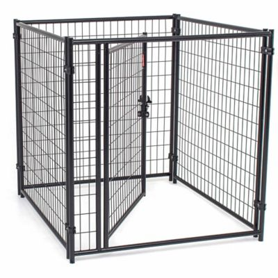 Lucky Dog Modular Welded Wire Kennel Kit, 4 ft. H x 4 ft