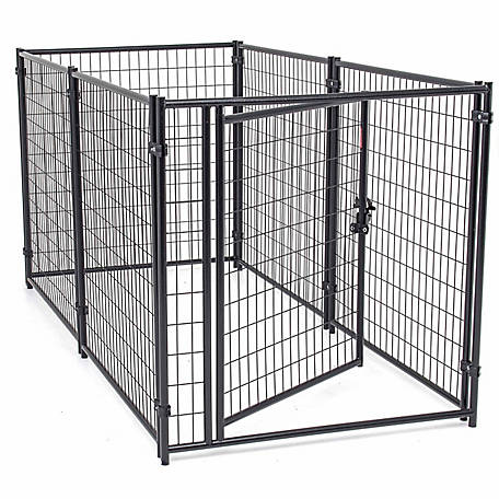 Lucky Dog 4 ft  H x 4 ft  W x 8 ft  L Modular Welded Wire Kennel Kit at  Tractor Supply Co
