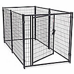 Lucky Dog 4 ft. H x 4 ft. W x 8 ft. L Modular Welded Wire Kennel Kit