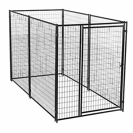 Lucky Dog Modular Welded Wire Kennel Kit 6 Ft H X 5 Ft W X 10 Ft L Black At Tractor Supply Co