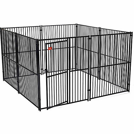 Lucky Dog European Style Kennel, 6 ft. H x 10 ft. W x 10 ft. L