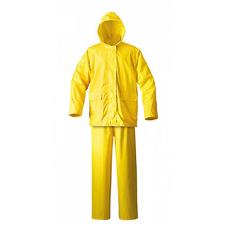 Mossi Simplex Rain Suit, Medium, Yellow