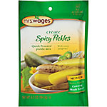 Mrs. Wages Spicy Pickles Quick Process Pickle Mix, Medium