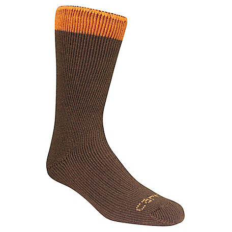 Carhartt Men's Arctic Thermal Crew Sock, Pack of 2