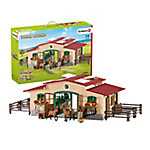 Schleich Stable w/ Horses and Accessories