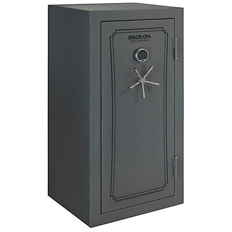 Stack-On Total Defense 40 Gun Fire Resistant/Waterproof Safe, Gray Pebble, TD-40-GP-E-S