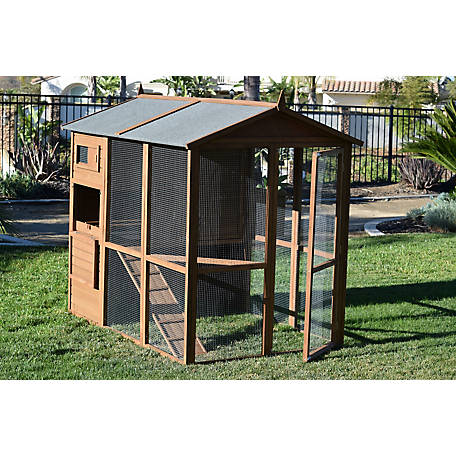 Rugged Ranch Pueblo Grand Chicken Coop