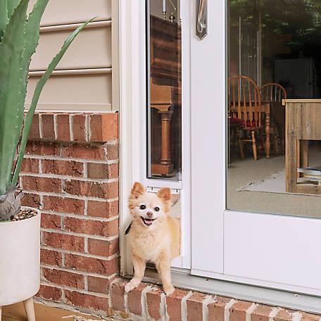 Petsafe 2 Piece Sliding Glass Pet Door With Temporary Install Option