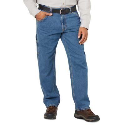 af25cd43 Blue Mountain Men's Denim Utility Jeans, Regular Fit