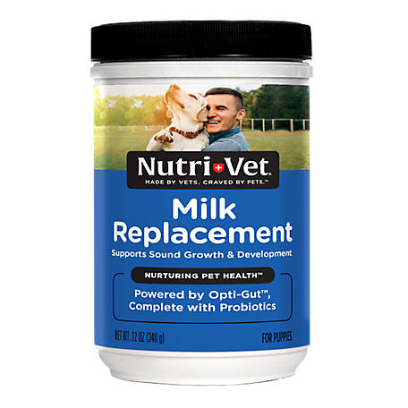 Nutri Vet Milk Replacement Powder For Puppies 12 Oz At Tractor