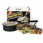 Wabash Valley Farms Open-Fire Pop Outdoor Popcorn Popper Kit with 3 Open-Fire Pop All-Inclusive Popping Kits